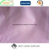 100 Ton-Streifen gekopierter Hülsen-Futter-Gewebe-Lieferant des Polyester-zwei
