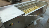 Машина шелушения картошки и машина чистки