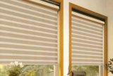 Tela Double- completa das cortinas da zebra da camada