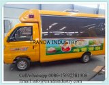 Tipo de múltiples funciones carro móvil del omnibus de la calidad estupenda del alimento