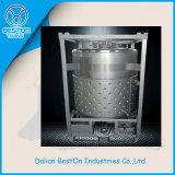 1000 Liter-Edelstahlbrennöl-IBC Tote-Becken