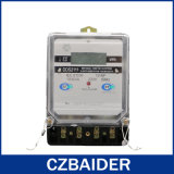단일 위상 정체되는 에너지 미터 (전기 미터, 선불된 미터) (DDS2111)