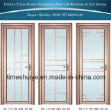 Porte en verre en aluminium avec différentes couleurs et tailles