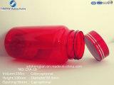 O nível superior personalizou o frasco recicl 150ml do plástico do animal de estimação das cores