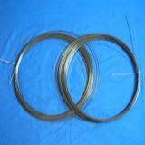 Черные проводы вольфрама, нить подогревателя вольфрама 99.95% белизн