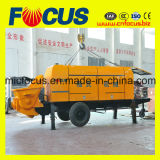 90kw Electric Motor Portable Trailer Concrete Pump mit Slide Valve