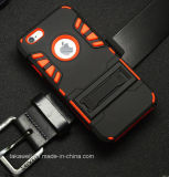 iPhone 5 5s Se를 위한 Stand를 가진 중국 Wholesale New Product Mobile Phone Accessory Armor Case 6s 6 Cell Phone Cover Case