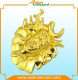 زبون [3د] تصميم علامة تجاريّة شامة مع عمليّة تصفيح نوع ذهب