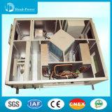 Aria sana di corrente d'aria di Hrv dell'unità di ventilazione di ripristino di calore di clima della doppia pelle 2000m3/H che tratta unità