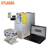 Macchina d'acciaio della marcatura del laser della fibra del metallo ecc con il caso protettivo