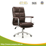 현대 낮은 뒤 가죽 사무실 의자 (B178)