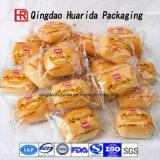 Изготовленный на заказ напечатанные логосом пластичные мешки упаковывать хлеба