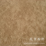 Tissu tacheté d'Alova de velours de pile de textile à la maison