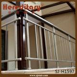 Preços de vidro dos trilhos da escada dos trilhos da escada do aço inoxidável (SJ-636)