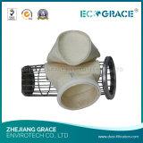 Sacchetto filtro industriale del poliestere del filtrante del gas