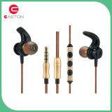 ステレオのイヤホーン3.5mmの耳のイヤホーン