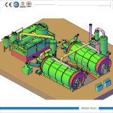20 trabalho de borracha do reator da planta dois da pirólise da tonelada junto