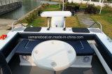 bateau d'aluminium de 5.8m avec le dessus dur