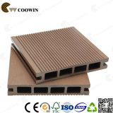 Anti-Warping Wood Composite Outdoor Hollow WPC Deckings avec Euro-Standard (TS-01)