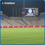 Im Freien farbenreiche Fahne des Sport-Stadion-LED
