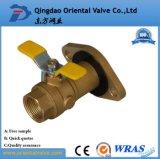 Válvula de esfera de bronze com a extremidade manual da união da qualidade superior do bocal um baixo preço de 3 polegadas