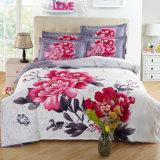 一定印刷された寝具はまたは女王か王100%年の綿またはポリエステルシートセット選抜する