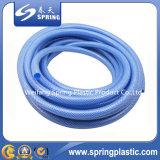 De blauwe Flexibele Slang van de Tuin van pvc voor Irrigatie