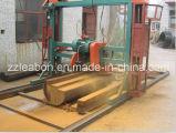 円の刃のログのディバイダーガソリン製材所