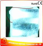 Chaufferette 400* 400*1.5mm 220V 500W de silicones avec la plaque d'aluminium de 2mm