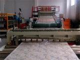 Da folha de pedra de mármore de imitação a mais nova do PVC de China 2016 linha de produção decorativa