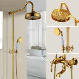 Oro de Sanitaryware Brassware del cuarto de baño/plata/Rosegold/máquina negra del laminado del ion de PVD