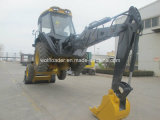 최신 Sale Newest 0.3/1cbm Bucket Capacity Backhoe Loader 두바이