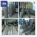 Filtro de engranzamento do fio/câmara de ar de filtro cilíndrica aço inoxidável/cilindro tecido do engranzamento