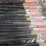 tissu tissé par pp agricole noir de lutte contre les mauvaises herbes de 3.2onz
