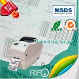 Equipaje Aeropuerto Etiquetas PP Material de papel térmico con MSDS