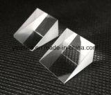 石英ガラスの光学プリズム、直角プリズム三角プリズム