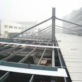 Het geprefabriceerde Pakhuis van het Frame van het Staal met Grote Luifel