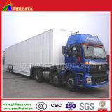 carga de maioria Van de 3axles 60ton Reboque para o transporte