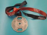Medalha feita sob encomenda do esporte da gravura do metal (XD-01192)