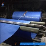 Tela tecida do Polypropylene da fábrica geotêxtil azul