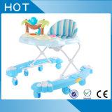 Marcheur confortable de bébé de vente en gros d'usine de la Chine seul