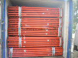Supports réglables galvanisés peints d'étayage de poste de Jack