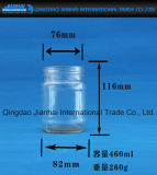 Qualitäts-Stau-Glas-Glasflasche mit Überwurfmutter