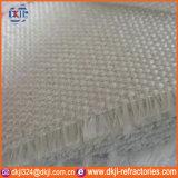 Tissu ignifuge de fibre en céramique d'isolation thermique de rideaux en four