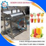 大きい容量1-1.5t/Hのフルーツねじジュースの抽出機械