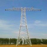 Torre atual do aço de Tarnsmission de um poder de 800 quilovolts Direcrt