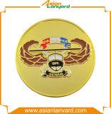 Kundenspezifische Metallgoldherausforderungs-Münze