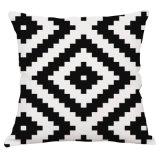 Coussin d'intérieur de textile de piste de présidence de sofa de coussin décoratif classique de fibre