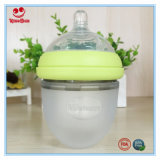 Бутылка младенца силикона шеи качества еды широкая для Newborn 120ml