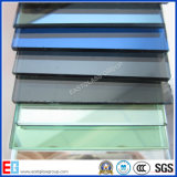 、緑、Tinted&Coloredのフロートガラス-青い、青銅色、黒灰色